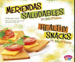 Meriendas Saludables en MiPlato / Healthy Snacks on MyPlate (Pebble Plus Bilingual)