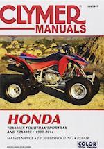 Honda Trx400ex Fourtrax/Sportrax and Trx400x 1999-2014 (Clymer Manuals)