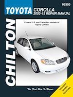 Toyota Corolla Chilton Automotive Repair Manual 03-13