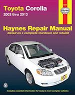 Toyota Corolla Automotive Repair Manual 2003-13