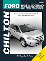 Ford Edge & Lincoln MKX Chilton Automotive Repair Manual