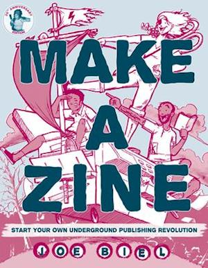 Bog, paperback Make a Zine! af Joe Biel