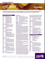 CPT 2017 Express Reference Coding Card Dermatology