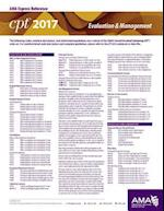CPT 2017 Express Reference Coding Card E/M