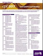CPT & HCPCS 2017 Modifier Express Reference Coding Card