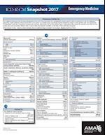 ICD-10 Snapshot 2017 Coding Cards Emergency Medicine