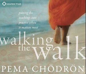 Lydbog CD Walking the Walk af Pema Chödrön