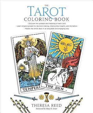 Bog paperback The Tarot Coloring Book af Theresa Reed