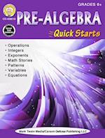 Pre-Algebra Quick Starts, Grades 6 - 12
