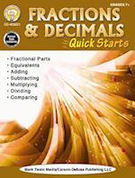 Fractions & Decimals Quick Starts, Grades 4 - 9