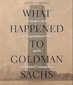 What Happened to Goldman Sachs af Steven G. Mandis