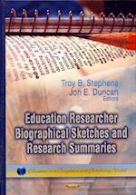 Education Researcher Biographical Sketches & Research Summaries