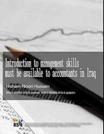 Introduction to Management Skills Must Be Available to Accountants in Iraq