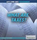 What Are Taxes? af Lynnae D. Steinberg
