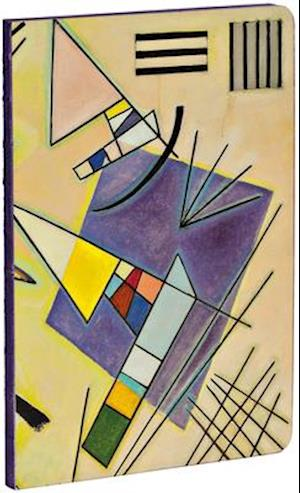 Black and Violet by Vasily Kandinsky A5 Notebook with Dot-Grid Pages and Exposed Binding Lays Flat