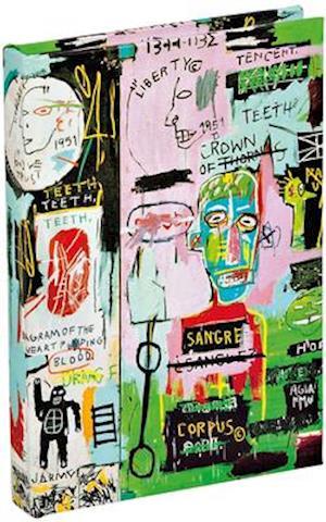 In Italian by Jean-Michel Basquiat Mini Sticky Book Notepad