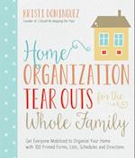 Home Organization Tear Outs for the Whole Family af Kristi Dominguez