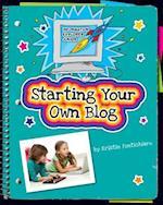 Starting Your Own Blog (Information Explorer Junior)