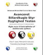 Avanceret Billardkugle Styr Dygtighed Testen