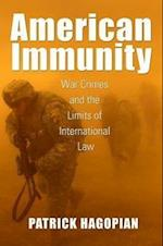American Immunity (Culture, Politics, and the Cold War)
