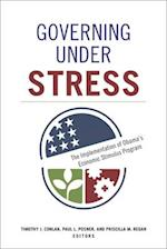 Governing Under Stress (PUBLIC MANAGEMENT AND CHANGE)