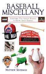 Baseball Miscellany