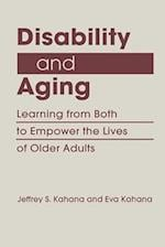 Disability and Aging (Disability in Society)