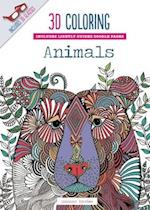 3D Coloring Animals (3-D Coloring)