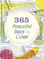 365 Peaceful Days to Color