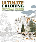 Ultimate Coloring National Parks af Thunder Bay Press