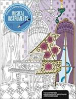 Musical Instruments (Premium Coloring Book Collection)