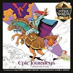 Epic Journeys Coloring Book (Other Worlds Icons of Fantasy)