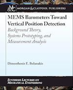 Mems Barometers Toward Vertical Position Detection