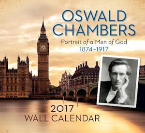 Bog, ukendt format Oswald Chambers 2017 Calendar af Discovery House