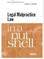 Johnson's Legal Malpractice Law in a Nutshell af Vincent Johnson