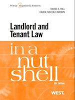 Hill and Brown's Landlord and Tenant Law in a Nutshell, 5th (Nutshell)
