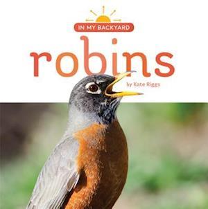 Bog, paperback Robins af Kate Riggs