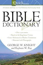 Quicknotes Bible Dictionary af George W. Knight