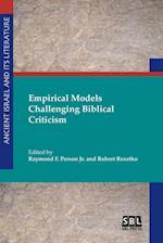 Empirical Models Challenging Biblical Criticism