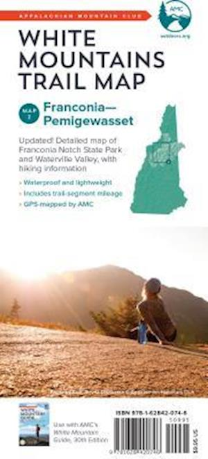 AMC White Mountains Trail Map 2