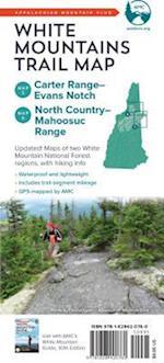 AMC White Mountains Trail Map
