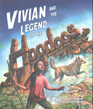 Bog, hardback Vivian and the Legend of the Hoodoos af Terry Catasús Jennings