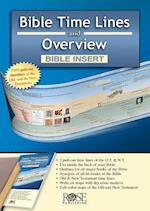 Bible Time Lines and Overview - Bible Insert (Ultra Slim Bible Tools, nr. 2)