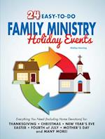 24 Easy-To-Do Family Ministry Holiday Events