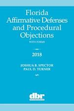 Florida Affirmative Defenses and Procedural Objections 2018