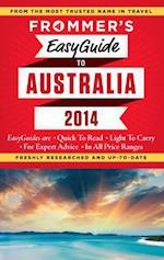 Frommer's EasyGuide to Australia 2014 af Lee Mylne
