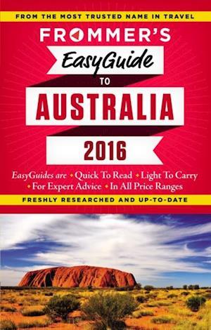 Frommer's EasyGuide to Australia 2016 af Lee Mylne