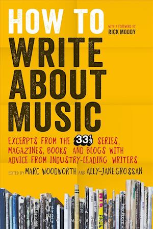Bog, paperback How to Write About Music af Marc Woodworth
