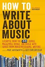 How to Write About Music af Marc Woodworth