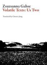 Volatile Texts (Swiss Literature)